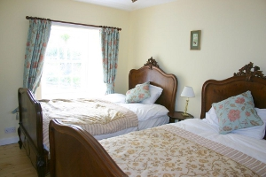 Twin Bedroom Creel holiday cottage Portsoy Aberdeenshire.