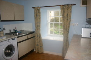 Kitchen Creel holiday cottage Portsoy Aberdeenshire.